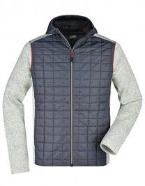 Men´s Knitted Hybrid Jacket